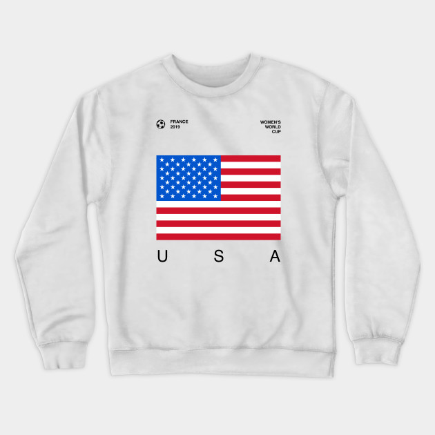 FIFA Mens Standard WWC France 2019 Women/'s World Cup USA Champs Tee