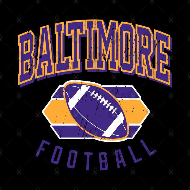 Vintage Baltimore Football