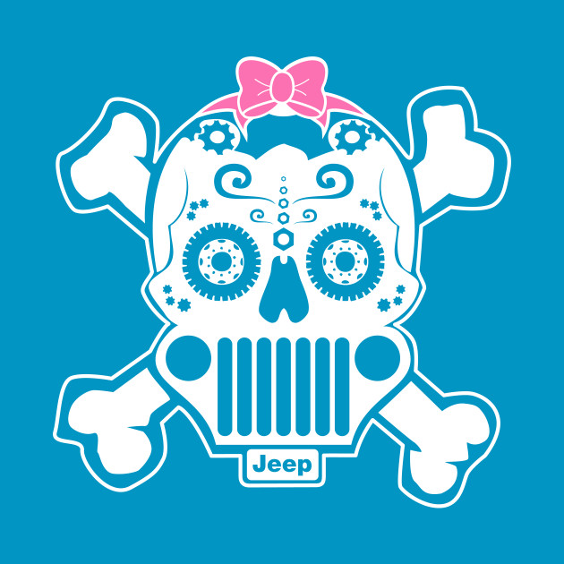 Sugar SKull Jeep for Girls