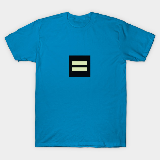 Solid Blue Equality T-shirt