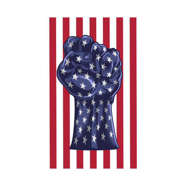 fist (USA) flag