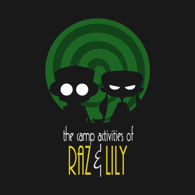 THE CAMP ACTIVITIES OF RAZ & LILI (BATMAN THE ANIMATED SERIES PARODY)