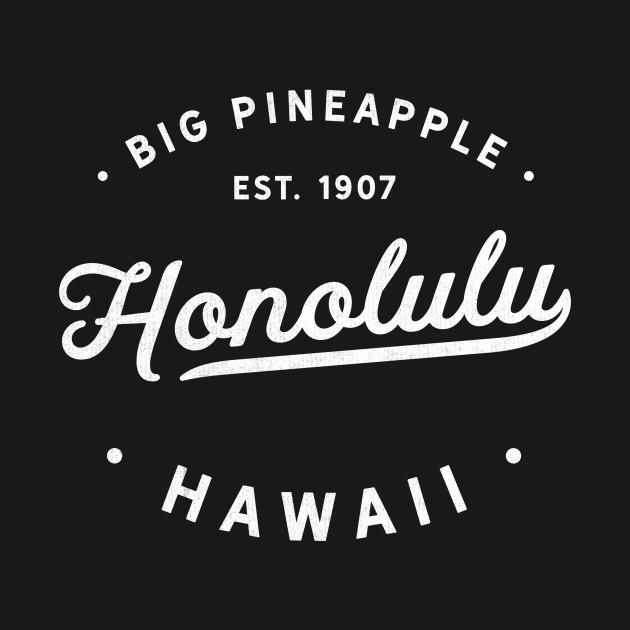 Vintage Classic Retro Honolulu Hawaii Aloha Novelty