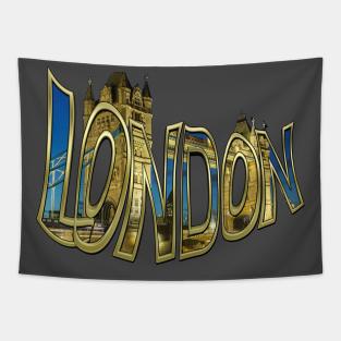 London Calling Tapestries Teepublic