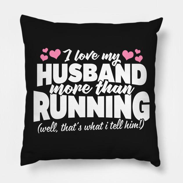 Christmas Gift For Runners Pillow