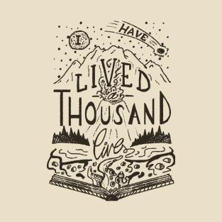 Thousand Lives t-shirts