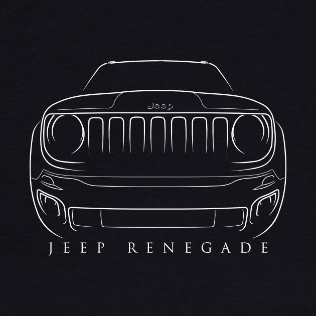 Jeep Renegade - stencil