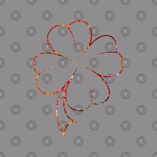 Four Leaf Clover Design - Perfect for St Patrics