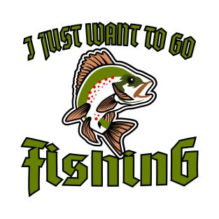 a4ce548a Funny Fishing T-Shirts | TeePublic