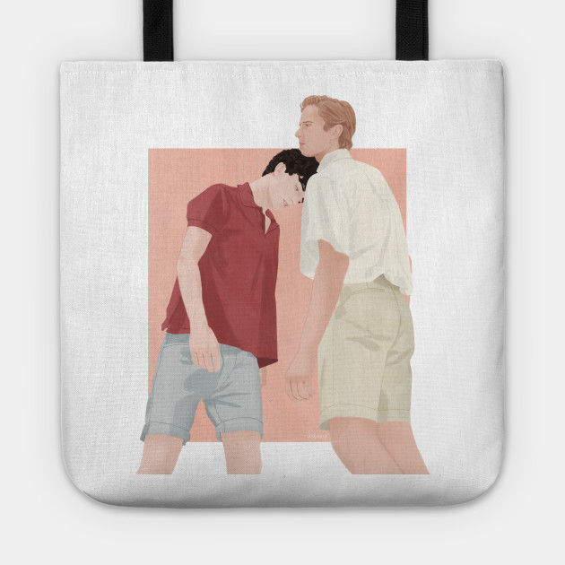 tote bag #1 Call me by your name cmbyn