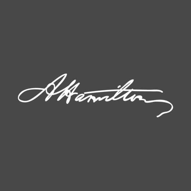 Alexander Hamilton signature
