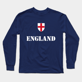6222dea5 England Soccer Long Sleeve T-Shirts | TeePublic