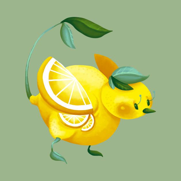 8947c40d9cda0c Lemon Bird - Lemon - Tank Top