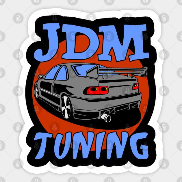 I Love JDM Tuner Japan Car Tank Top