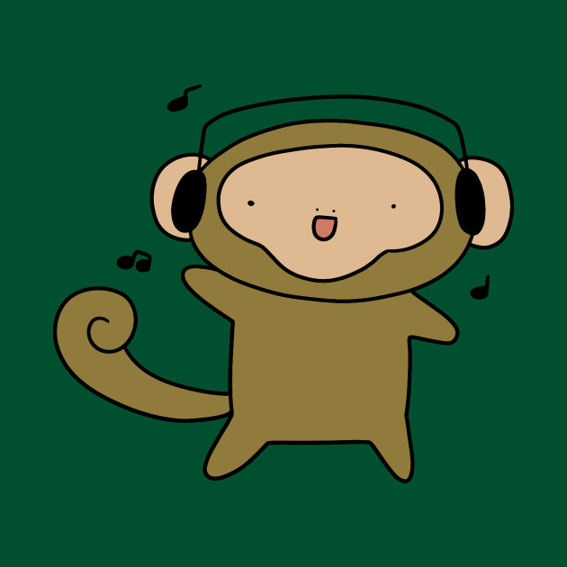 Headphones Monkey