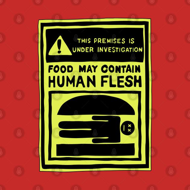May Contain Human Flesh