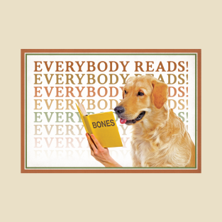 Everybody Reads! t-shirts