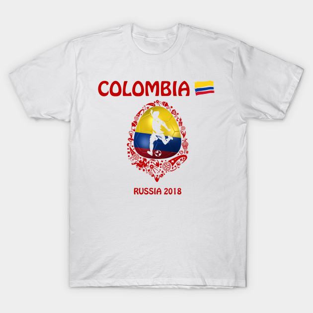 c76a50fd344 Colombia soccer team at the World Cup FIFA Russia 2018 - Colombia ...