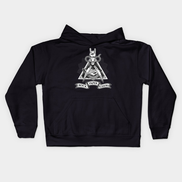 ea60e090d Rock Paper Scissors - Rock Paper Scissor - Kids Hoodie | TeePublic UK