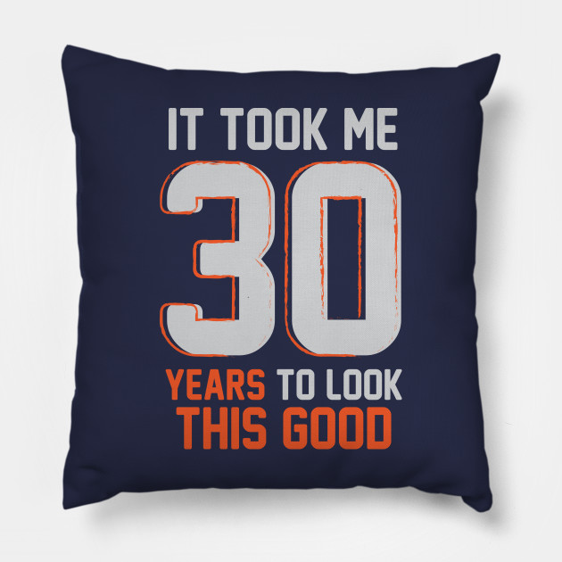 Funny 30th Birthday Pun Design