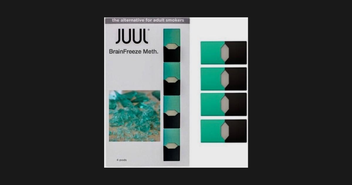 JUUL: BRAINFREEZE METH FLAVOR by constantrotation
