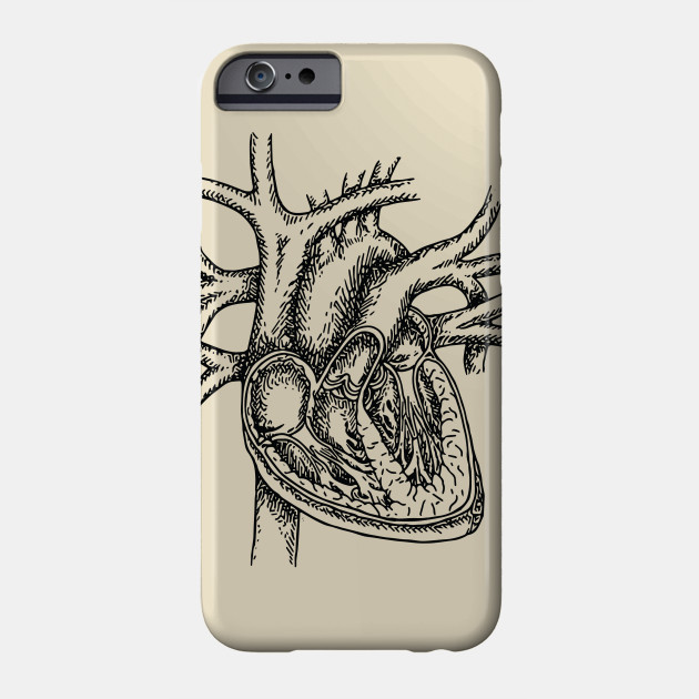 The Dissected Heart Sketch (Black)