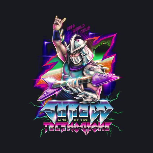 Shredd Live at the Technodrome 1988