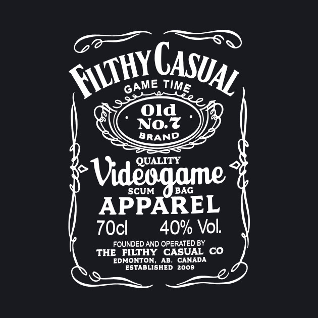 Filthy Casual - Jack Daniel's style