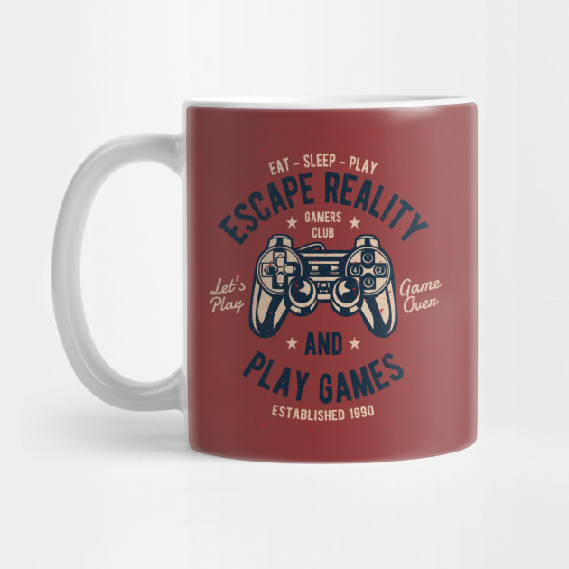 a32d6f0a35cf Escape Reality and Play Games - Video Games - Mug