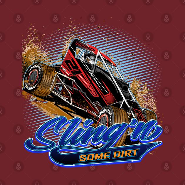 Midget Racing Sling'n Dirt