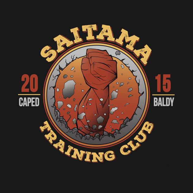 Saitama Training Manga Saitama Training Club - Fitness - T-Shirt | TeePublic