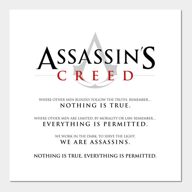 Assassins Creed Oath - Templars - Posters and Art | TeePublic