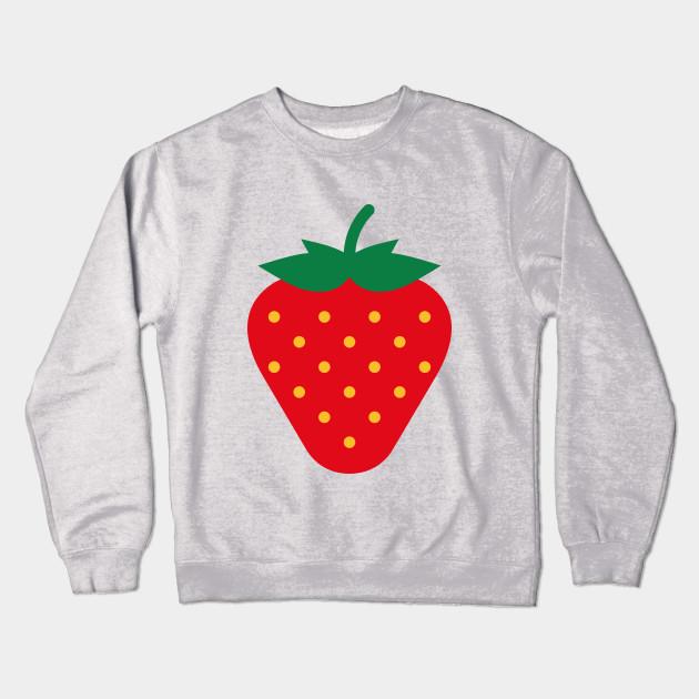 d3f831705 Strawberry / Fraise / Fresa / Erdbeere - Strawberry - Crewneck ...