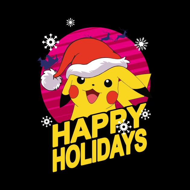 Christmas Pikachu.Christmas Pikachu