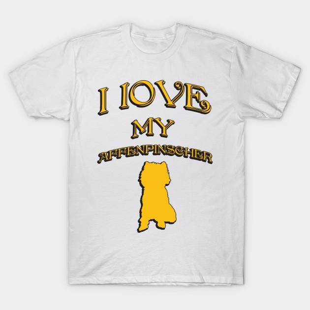 c9f5d213c0dd I Love My Dog - I Love Dogs - T-Shirt | TeePublic