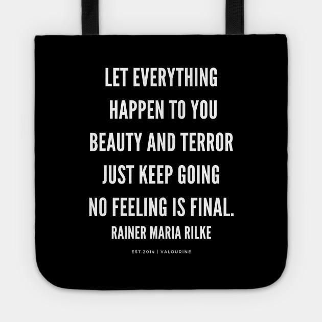Rainer Maria Rilke Quote Keep Going Motivational Quote Success