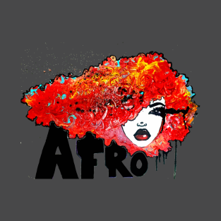 5fc727ad Afro Rush Bighair Natural Hair Styles TShirt/Tees T-Shirt