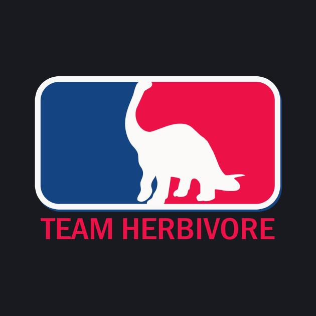 Team herbivore vegetarian vegan humor