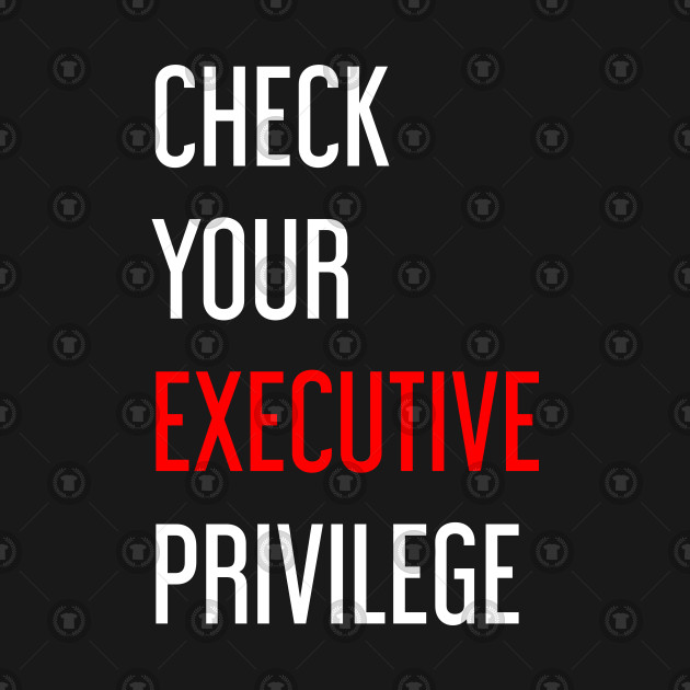Check Your Executive Privilege