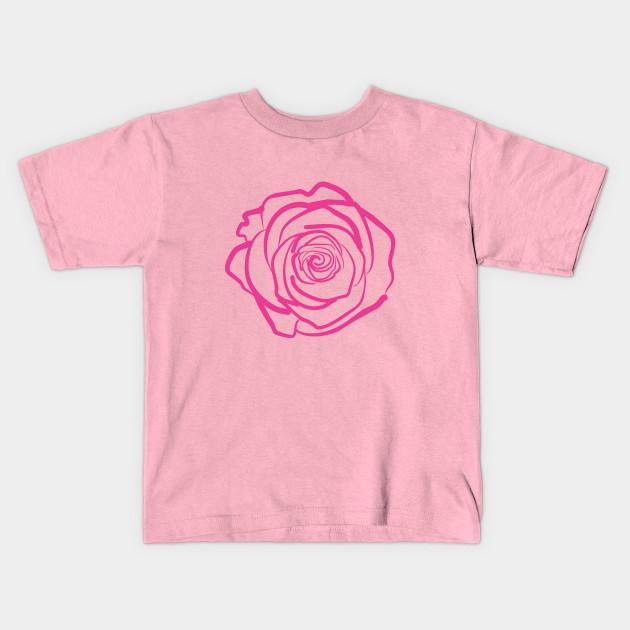 Rose rose pink drawing modern beautiful love fresh botanic nature 1615572 1 mightylinksfo