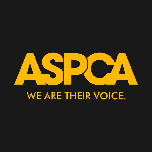 f22431a47bfd67 funny Aspca - Aspca We Are Their Voice - Kids T-Shirt