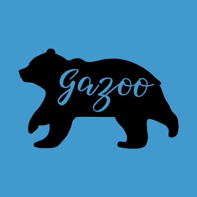 Running Gazoo Name Bear