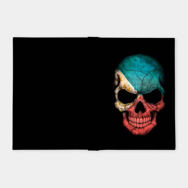 Filipino Flag Skull