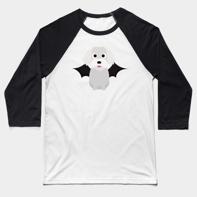 Bichon Frise Halloween Fancy Dress Costume Baseball T-Shirt