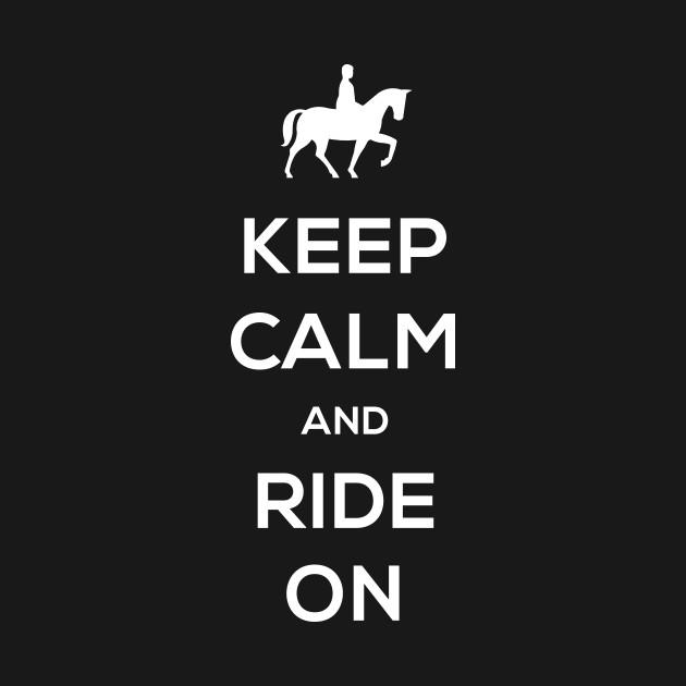 Keep Calm Funny Horseback Riding Quote Horseback Riding Tank