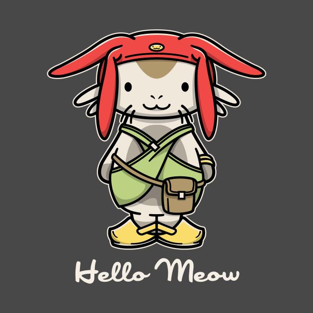 Hello Meow T-Shirt