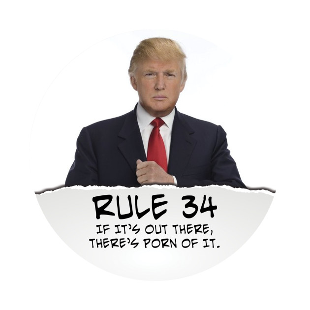 Rule 34 donald trump