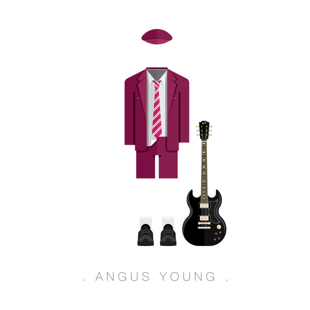 Angus Young - Famous Costumes