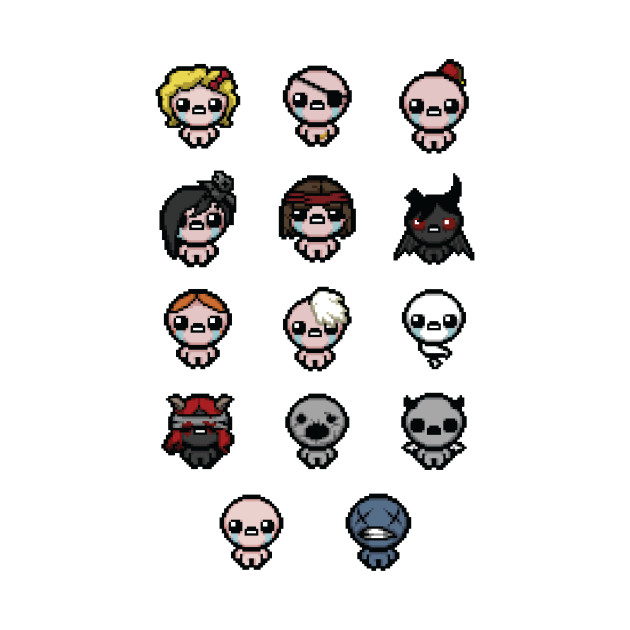 The Binding of Isaac characters