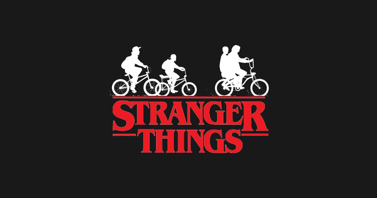stranger things logo - Stranger Things - Sticker | TeePublic